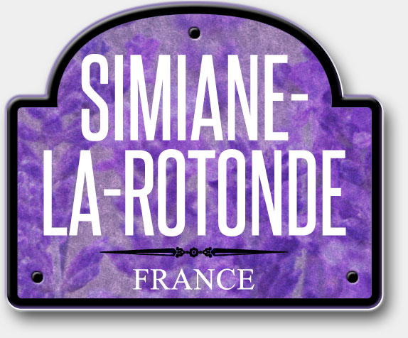 Simiane-La-Rotonde, France